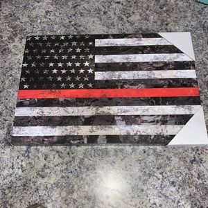 Red line flag